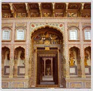 Haveli businessmen house Mandawa Rajasthan