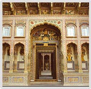 Entrance of Haveli, Mandawa