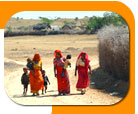 A Rajasthani  family walk